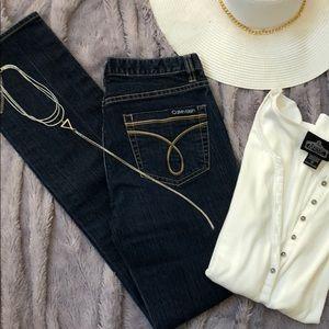 Calvin Klein Jeans size 26/2 Skinny dark wash💙